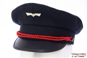 Uniform cap railway emblem dark blue 54 (XS)