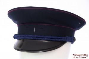 Uniform hat VEB dark blue with pink lining 57