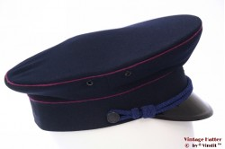 Uniform hat VEB dark blue with pink lining 57