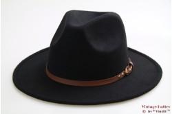 Outdoor Western hoed Hawkins zwart 57 [nieuw]