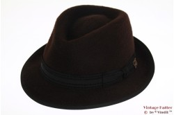 Cashmere hat Michael Zechbauer by Mayser dark brown 58 [new]