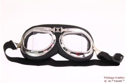 Goggles clear 2-piece glass