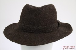 Outdoor hat brown fur felt 59