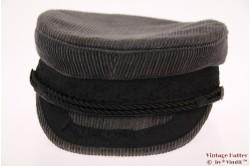Captain's cap Fiebig Prinz Heinrich grey corduroy 56
