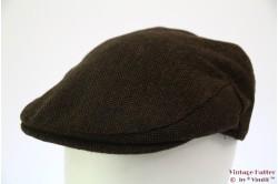 Flatcap Hawkins herringbone brown 59 [new]