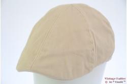 Flatcap Hawkins beige cotton pre-shaped 60 [new]